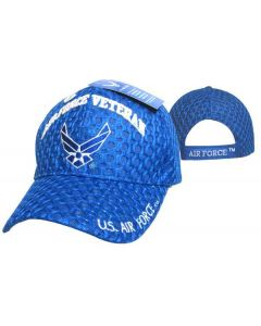 "United States Air Force Hat ""AIR FORCE VETERAN"" Wings/Mesh CAP593H"
