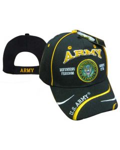 United States Army Hat Defending Freedom Seal CAP595F