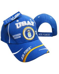 United States Air Force Hat - USAF Defending Freedom Seal CAP597F