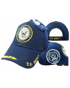 United Stated Navy Hat Seal w/Leaf Bill CAP602B