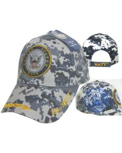 United Stated Navy Hat Seal w/Leaf Bill CAP602BC