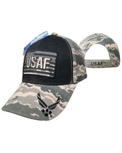 "United States Air Force Hat ""USAF"" Text ATop Flag CAP603FA"