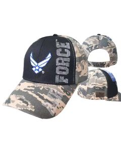 United States Air Force Hat- Wings Logo Flag CAP603K
