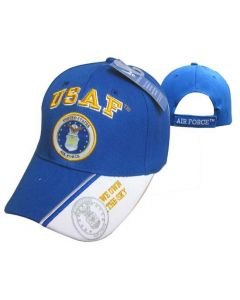 "United States Air Force Hat USAF w/Seal ""OWN THE SKY""-RYL BL CAP603M"