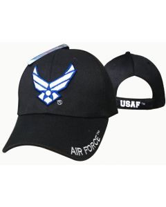 United States Air Force Hat-Wings Logo-Navy CAP603NB