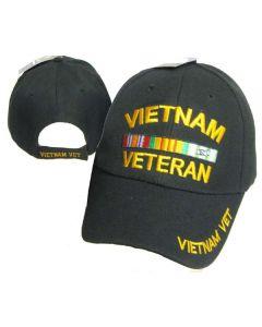 United States Vietnam Veteran Military Hat-BK CAP607A