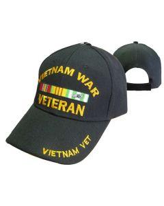 United States Vietnam War Veteran Military Hat-BK CAP780A