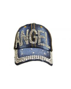 Cap - Rhinestone - 18466 Angel