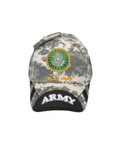 United States Army Hat Seal Digital /Two-Tone Black Bill CAP601EC