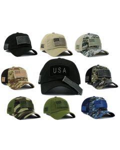 Cap - Patch - Removable USA Flag Velcro Patch