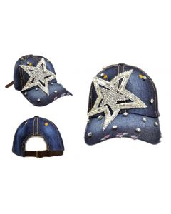 Rhinestone Hat  -  Big Star Denim - 18417