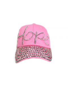 Rhinestone Hat  - Hope - 18476
