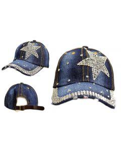 Cap Rhinestone Star 18409