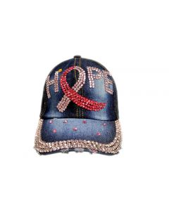 Cap - Rhinestone - Hope Denim 18457
