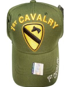 United States Army - 1st Cavalry Military Hat-Olive