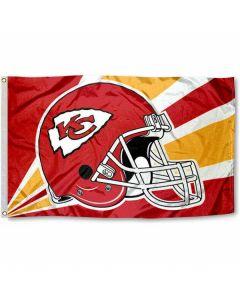 NFL Kansas City Chiefs Flag - Helmet 3 x 5