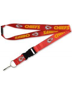 NFL Kansas City Chiefs Lanyard - Red