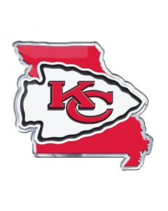 NFL Kansas City Chiefs State Outline Emblem