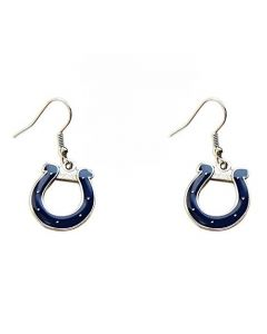 NFL Indianapolis Colts Earring Dangle Logo