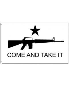 """Flag - Gonzales """"Come and Take It"""" M4"""