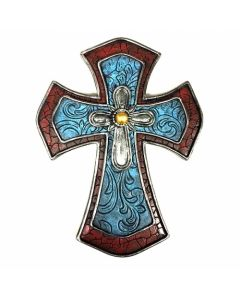 Texas Decor - Poly Multi Layer Cross XF-R0061