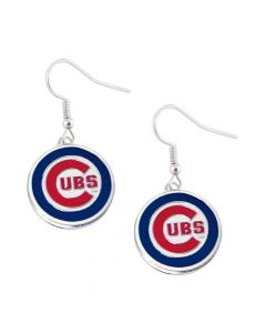 MLB Chicago Cubs Logo Earrings