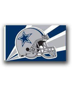 NFL Dallas Cowboys Helmet Flag 3' X 5'