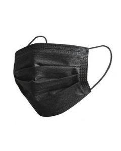 Face Mask - Disposable BLACK 50PC