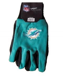 NFL Miami Dolphins Sports Utility Gloves