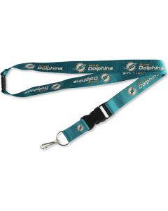 NFL Miami Dolphins Lanyard - Teal