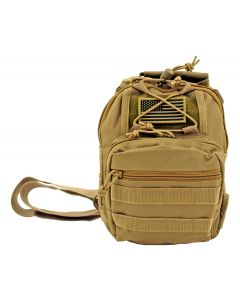East West Concealed Carry Sling RT517-Tan