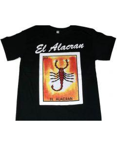El Alacran Loteria T-Shirt