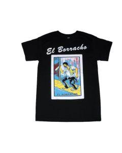 El Borracho Loteria T-Shirt