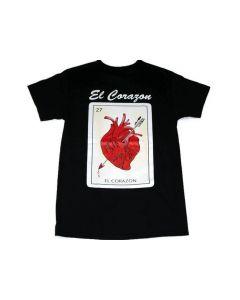 El Corazon Loteria T-Shirt