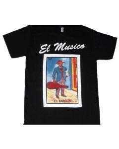 El Musico Loteria T-Shirt