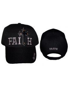 Christian Hat, Faith w/Cross