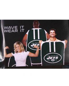 NFL New York Jets Fan Flag