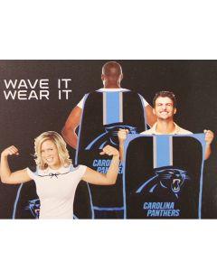 NFL Carolina Panthers Fan Flag