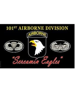 Flag - 101ST Airborne Division(Screamin Eagles)
