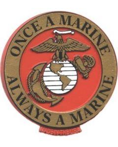 "Flag - United States Marine Corps ""ONCE A MARINE"" 1406"
