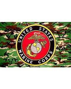 Flag - Marine Camo/Seal 3X5