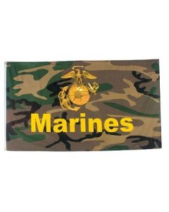 Flag - Marine Camo New 3X5