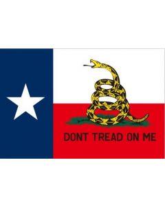 Flag - Texas Dont Tread On Me 3X5