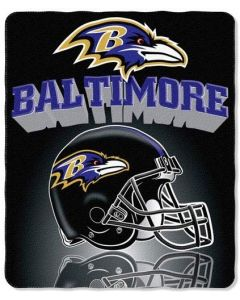 NFL Baltimore Ravens Fleece Throw Blanket