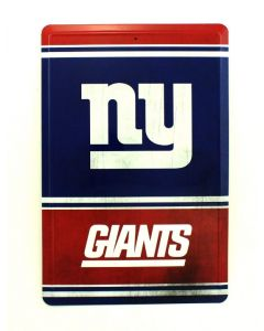 NFL New York Giants Tin Sign