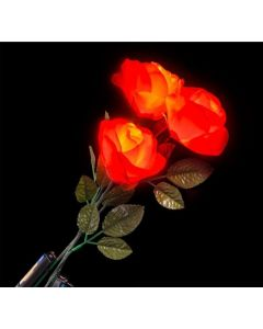 Red Rose light-up 19 inch, Sold by the Dozen