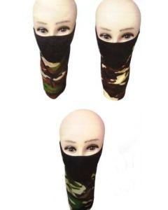 Half Mask - MK890-CAMO SOLD BY THE DOZEN