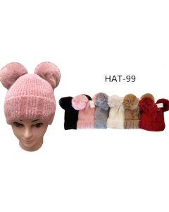 Ski Hat HAT-99 Mouse (Fur Ears)