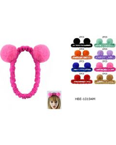 Head Band - Mickey Fur HBE-10194M SOLD BY DOZEN