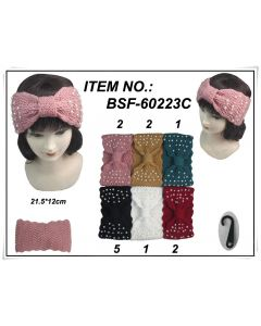 Head Wrap - Pearl BSF-60223C SOLD BY DOZEN